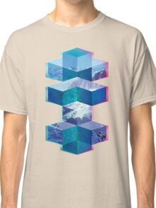 Abstract Cubes Classic T-Shirt