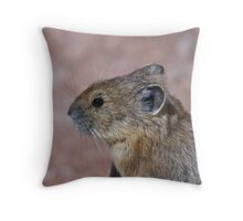 Pika Portrait Throw Pillow