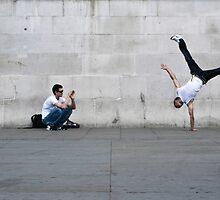 Street acrobatics by Rose Atkinson