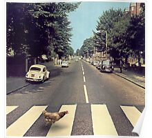 Why did the chicken cross THE road? Poster