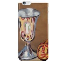 Silver Chalice with Fruit & Vege...Still Life iPhone Case/Skin