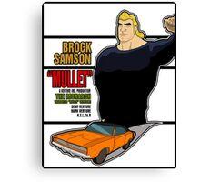 Brock Samson IS MULLET! Canvas Print