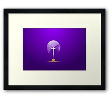 A Royal Idea. Framed Print