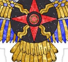 Sun Disk of Assyrian-Babylonia Sticker