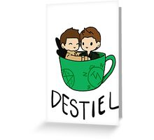 Destiel Greeting Card