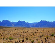 Rugged Mountains Photographic Print