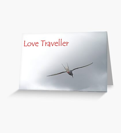 love traveller Greeting Card