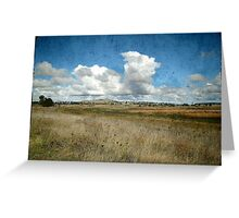 My Country, Uralla, New South Wales Greeting Card