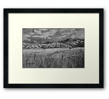 Grant County OR Framed Print