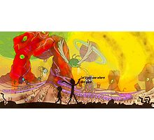 Rick and Morty Scenery  Photographic Print