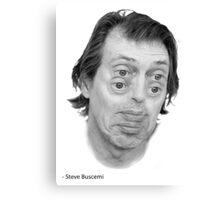 Steve Buscemi Eyes Canvas Print