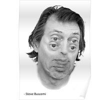 Steve Buscemi Eyes Poster