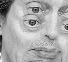 Steve Buscemi Eyes Sticker