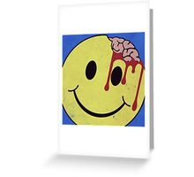 DON'T WORRY. BE EATEN. Greeting Card