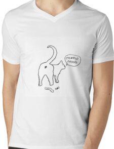 Meow Noob Mens V-Neck T-Shirt