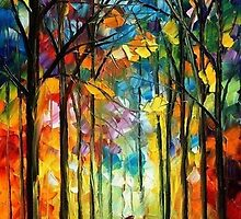 Colors Of Love — Buy Now Link - www.etsy.com/listing/217334663 by Leonid  Afremov