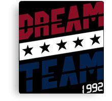 Dream Team Funny Geek Nerd Canvas Print