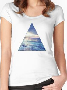 Oceanic Triangle Women's Fitted Scoop T-Shirt