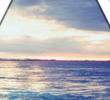 Oceanic Triangle Sticker