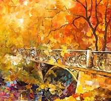 The Embassay Of Autumn — Buy Now Link - www.etsy.com/listing/217624914 by Leonid  Afremov