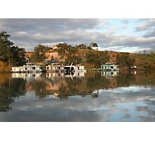 Reflections at Paringa, S.A. Photographic Print