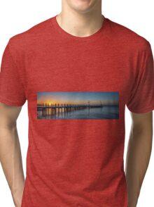 Safety Beach Sunset Tri-blend T-Shirt