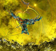 Upward Flight - Toward the Light by Dean Warwick