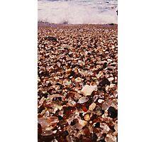 Glass sand Photographic Print