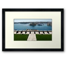 A Well Guarded Harbour Framed Print