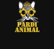 Black and Gold Pardi Animal T-Shirt