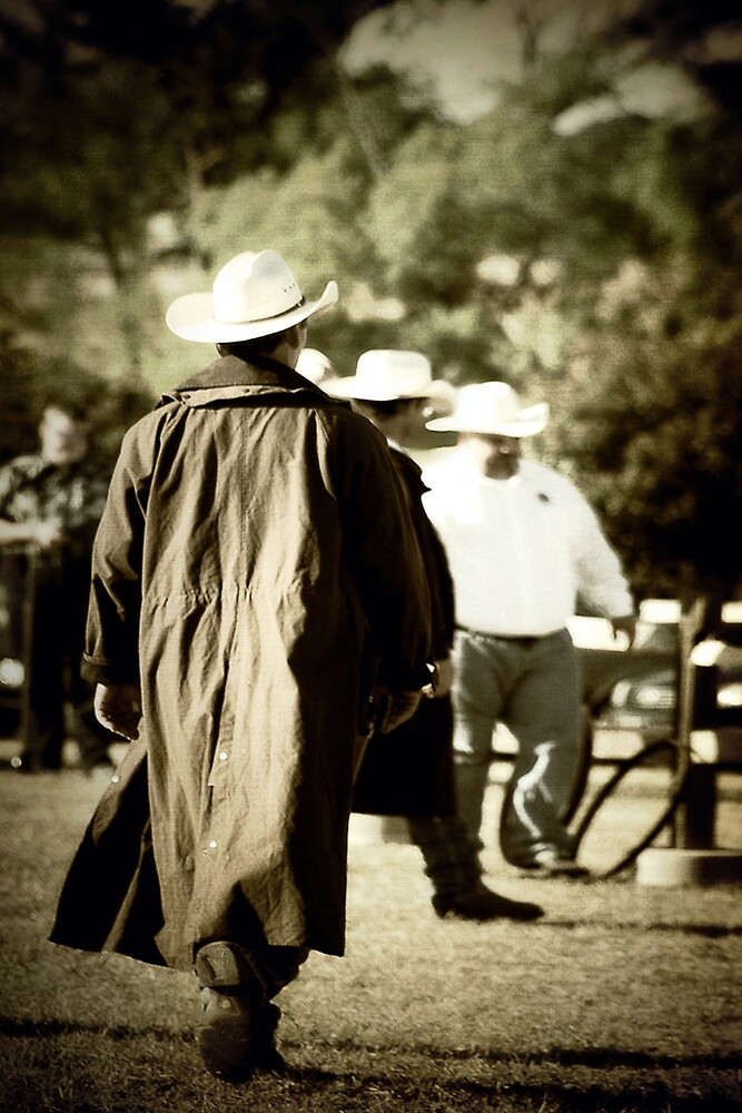 Trenchcoat Cowboy by Trish Mistric