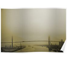 Talmadge Bridge Poster