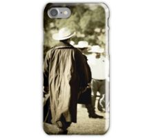 Trenchcoat Cowboy iPhone Case/Skin