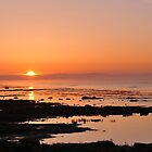 Sunrise over the Baltic by Heather Thorsen