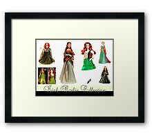 Irish Barbie Collection Framed Print