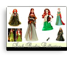 Irish Barbie Collection Canvas Print