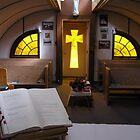 Our Lady of the Way: Quonset Hut Church by Felicia Moore