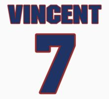 Basketball player Vincent Askew jersey 7 by imsport