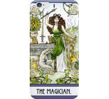 The Magician - Card iPhone Case/Skin