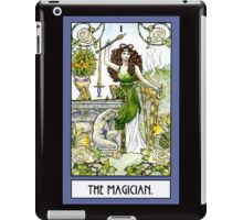 The Magician - Card iPad Case/Skin