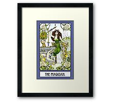The Magician - Card Framed Print