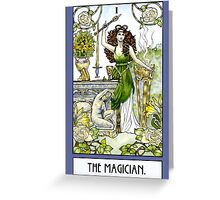 The Magician - Card Greeting Card