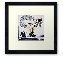 even fairytale characters... Framed Print