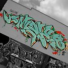 Grafiti wall by Daniel Neuhaus