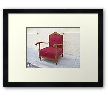 """"""" Not wanted """" Framed Print"""
