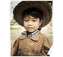 Burmas Children Poster