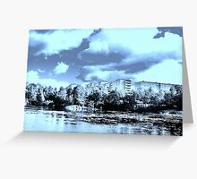 Mighty Clouds Over Our Suburb Greeting Card