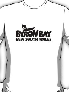 Byron Bay Surfing T-Shirt
