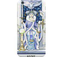 """Justice"" Tarot Card iPhone Case/Skin"
