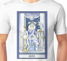 """Justice"" Tarot Card Unisex T-Shirt"